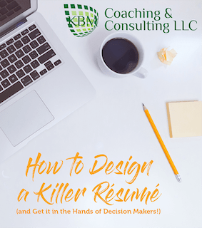 KBM Killer Resume ebook cover